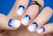 Nail Art / Nail art is a creative way to decorate nails. It is a type of art which can be done on fingernails and toenails