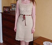 Crafts ~Crochet::Dresses/Skirts / by Shannon from Coping Via Creativity