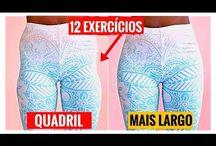Exercícios para alargar os quadris