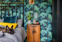 plant wallpaper / Plant wallpaper! Who knew there was so many amazing wallpapers with designed with plants! With this many beautiful botanical designs, who couldn't start a Pinterest board to feature them all. Perfect for your next home design project with tropical plants  or fresh plant design in mind.