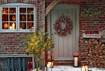 weihnachtlicher Garten
