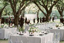 bröllop - dukning