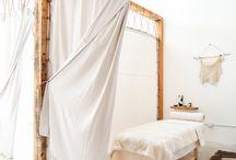 Salon de massage idée deco