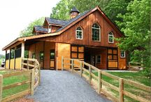 Barns / A collection of barns, both rural and urban; business & residential.