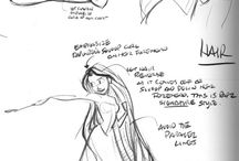 posing and gestures (illustrations)