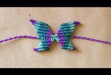 Pulseras mariposas