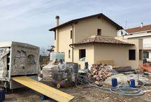 Villa Benedetti / Villa mono familiare su due livelli realizzata con struttura portante in legno, sistema costruttivo Platform Frame, classe energetica A.