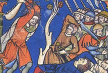 Maciejowski Bible / Miniatures from a French ca 1250 old testament bible