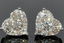 Orecchini di diamanti