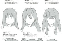 Drawings - Hairstyles