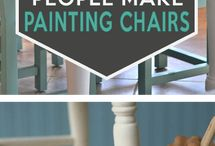 Paintings chairs   .