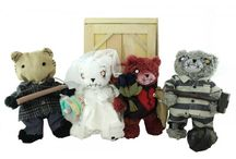 Teddy Scares / We love Teddy Scares!!!!!  These scary Teddy Bears are super fun for that spooky kids!