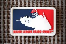 """TBOC MLBO Patches / TBOC """"Major League Beard Owners"""" Patches"""