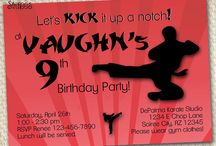 Karate / Ninja / Martial Arts Party / All things to do with Karate, Martial Arts, and Ninja stuff.