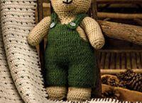 Вязание крючком медведь