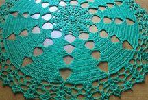 Centrinho de crochet natal