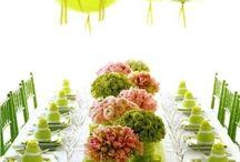 Green Table wedding