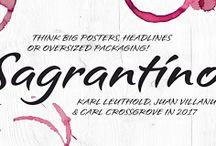 Sagrantino™ Font Download