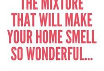 Nice smells yo use in your home