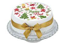 Décoration gâteau de Noël