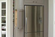 fridge /frezer skapet