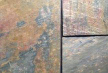 Slate pavers and veneers