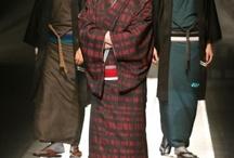 日本の男性着物