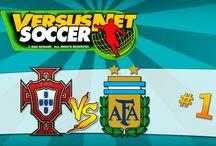 Versus Net Soccer [Portugal] / Versus Net Soccer foi um jogo de futebol desenvolvido para a Konami em 1996. Este jogo foi desenvolvido para as máquinas de salões de jogos.