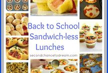 Lunch Lady Land / Lunch box foods for kids  / by Angela Conser