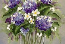 λουλουδια ζωγραφιστα