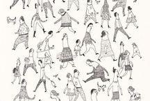 illustration personnages