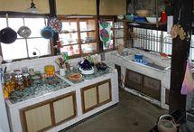 台所 / 憧れの台所 料理上手の台所 キッチンじゃなくて台所