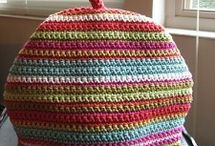Crochet teacosies