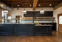 Bakery & Sandwich Shop / Design ideas for the bakery/sandwich shop I'm dreaming about opening.