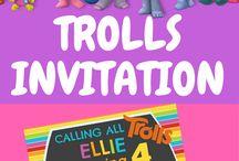 Troll birthday party ideas