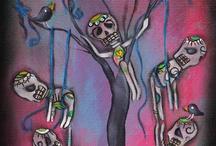 Dia De Los Muertos & Mexican Folk Art