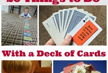 Deck of card games