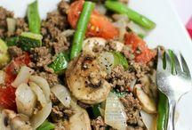 Beef skillet meals
