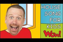 English for kids - House/Rooms / Educational and entertaining interactive materials for kids introducing rooms in the house and parts of the house. Watch the stories with Steve and Maggie, have fun and learn at the same time! If you want to see more visit free YouTube channel Wow English TV: https://www.youtube.com/c/WOWENGLISHTV