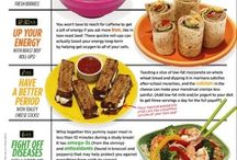 Healthy meal plans/ diets