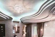 false Gypsum ceilings designs with blue ceiling lighting ideas for living room / false Gypsum ceilings designs with blue ceiling lighting ideas for living room
