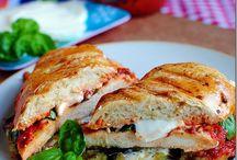 Sammies, Burgers, Things on Bread / by Christine K