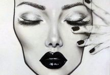 Face charts | Face charts Makeup
