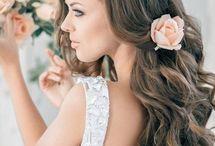 bridal hair & flowers