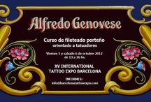 Cursos y Eventos de Fileteado Porteño / by Alfredo Genovese