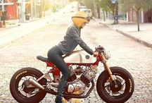 Cafe Racer & Bobber & Tracker