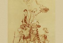 French Menu Art / Our earliest French menu art dates from 1888. Here is a select collection from Cool Culinaria.
