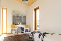 Study and guest room - Työ/vierashuone / Ideas for combined study and guest room