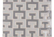 Fireclay Tile: The Runway Collection / Inspired by fashion, designer Kelly LaPlante created a collection of tiles that celebrates some of the most classic elements in men and women's clothing.