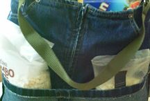 Recycled Jeans...Clever Ideas...
